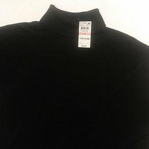 Lux Soft Turtleneck Sweater. 2X. Black. Nwt